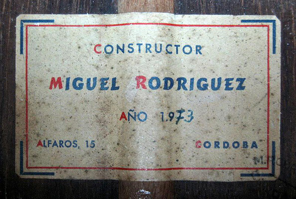 Miguel Rodriguez 1973 - Pepe Romero - Guitar 2 - Photo 6