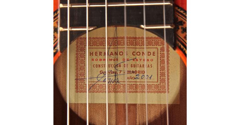Hermanos Conde 2001 - Guitar 5 - Photo 5