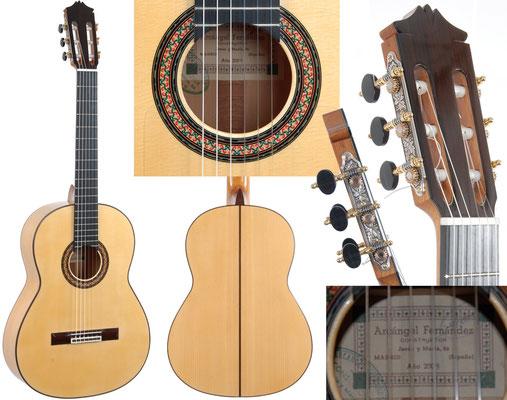 Arcangel Fernandez 2009 - Guitar 1 - Photo 1