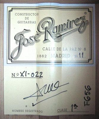 Jose Ramirez 2011 - Guitar 3 - Photo 3