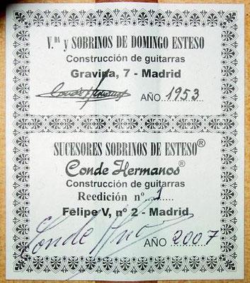 Hermanos Conde 2007 - Guitar 3  - Photo 4