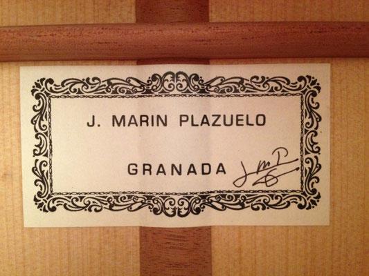 Jose Marin Plazuelo 2013 - Guitar 1 - Photo 2