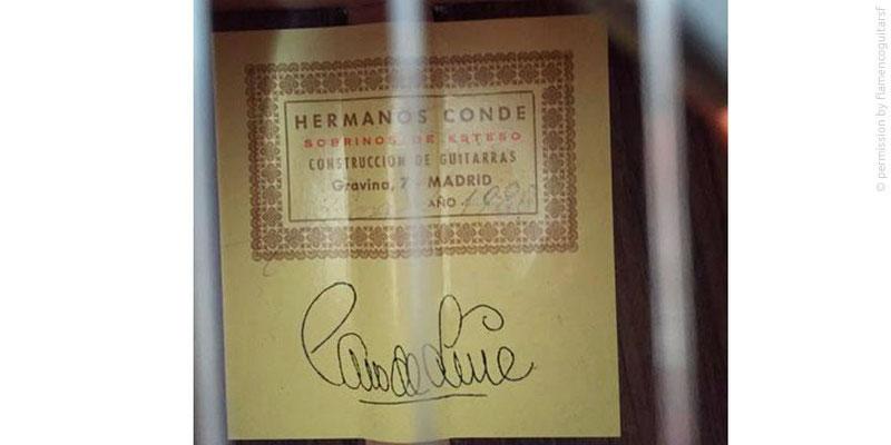 HERMANOS CONDE - SOBRINOS DE ESTESO 1980 #2 - LABEL - ETIKETT - ETIQUETA