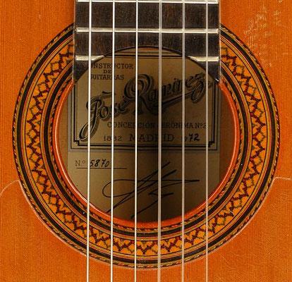 Jose Ramirez 1972 - Guitar 2 - Photo 3
