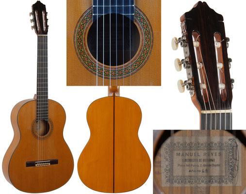 Manuel Reyes 1964 - Guitar 2 - Photo 1