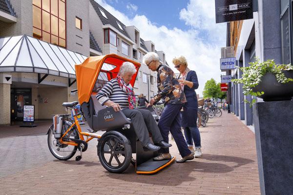 Van Raam Chat bei Ihrem Dreirad Zentrum in Österreich