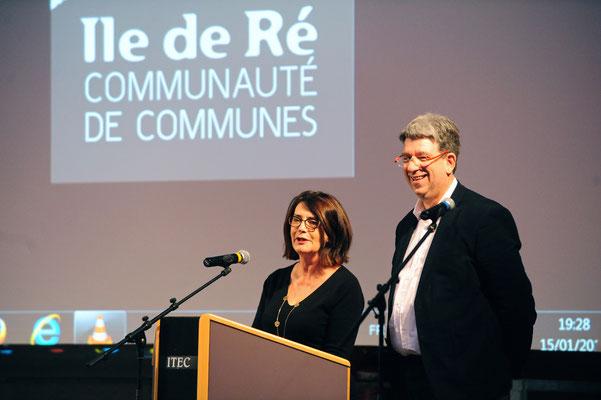 CdC Ile de Ré-Voeux du Président L. Quillet 2016