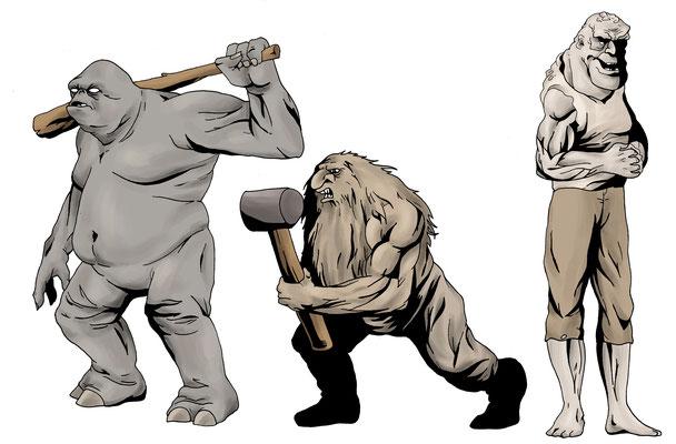 Troll, Oger, Riese 2009
