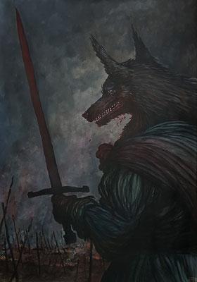Der Wolf auf dem Schlachtfeld 2018