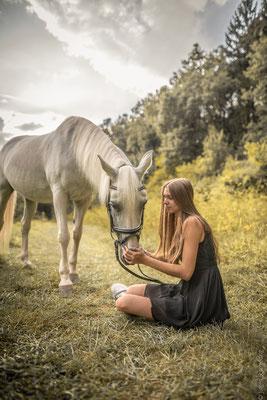 Fotoshooting mit Pferden in Sinz 6