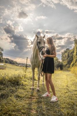 Fotoshooting mit Pferden in Sinz 10