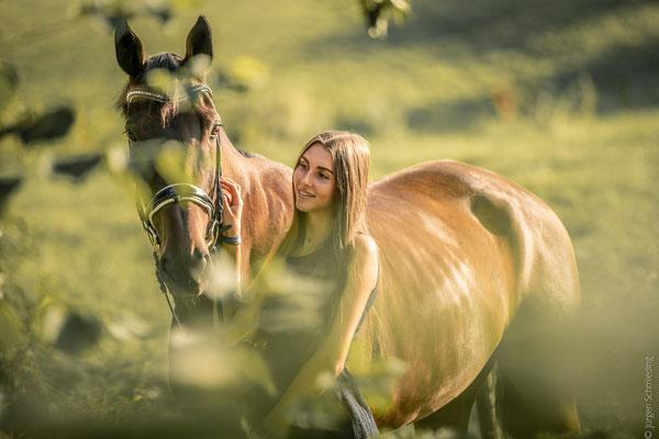 Fotoshooting mit Pferden in Sinz 8