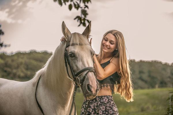 Fotoshooting mit Pferden in Sinz 5