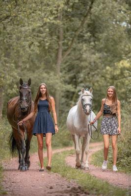 Fotoshooting mit Pferden in Sinz 2