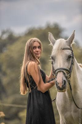 Fotoshooting mit Pferden in Sinz 11