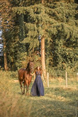 Fotoshooting mit Pferden in Sinz 15