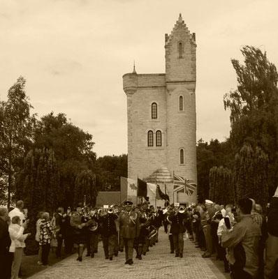 cérémonie 101éme anniversaire bataille de la somme 1er juillet 2017 tour d'ulster