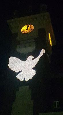 30 juin- Albert- Hôtel de Ville- Colombe de la Paix