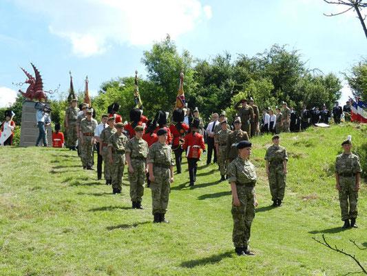 7 juillet- Mametz- cérémonie du Centenaire de la Bataille de la Somme
