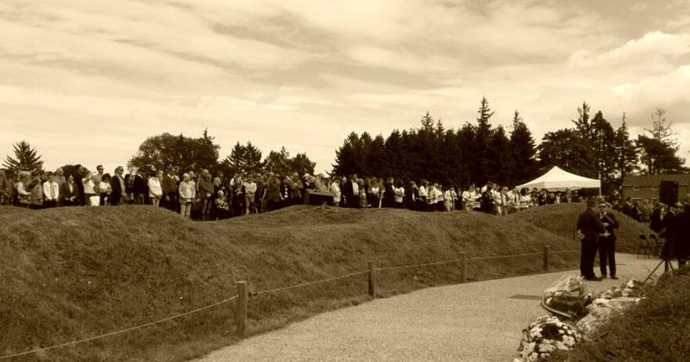 cérémonie 101éme anniversaire bataille de la somme 1er juillet 2017 beaumont hamel