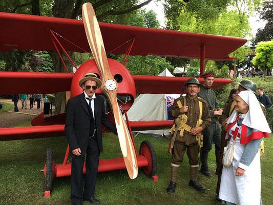 Albert- 30juin 1er et 2 juillet- Musée Somme 1916- Animations 14-18
