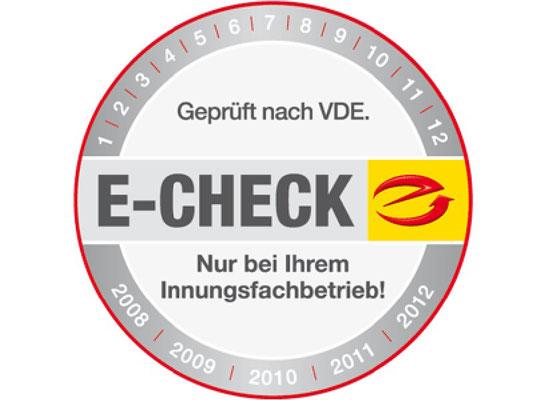 E-Check Siegel Elektro Burger Deining