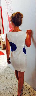 Sommerkleid weiß kurz