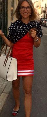 Damenkleid Kurz Rot