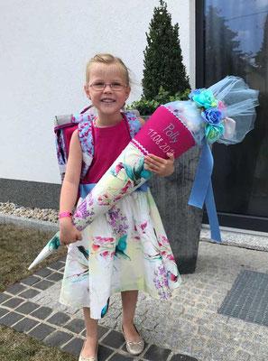 Kinderkleid Schuleinführung
