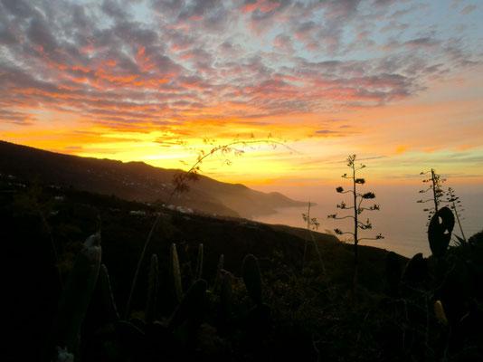 Sonnenuntergang Punta Juan Adalid