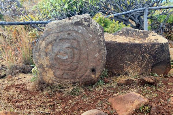 Steinzeichnungen Küste Santo Domingo