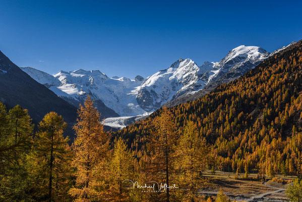 Blick ins Val Morteratsch