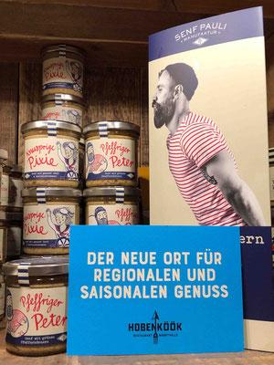 Regional einkaufen heißt in der Hobenköök: Zulieferant*innen im Umkreis von 200km Hamburgs stellen das größte Angebot vor Ort.