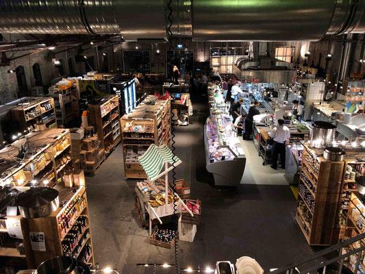 Auf 600 Quadratmetern bietet die Hobenköök frische Ware von mehr als 200 Lieferant*innen