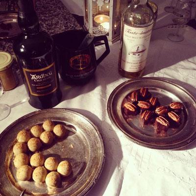 Die Aromen des Konfekts wurden auf die Whiskysorten perfekt abgestimmt.