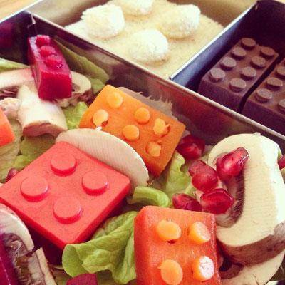 Mit Liebe gemacht: Die Legobox, die Erwachsene und Kinder gleichermaßen erfreut.