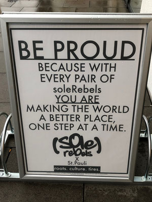 Das Motto: Mit SoleRebels die Welt zu einem besseren Ort machen.