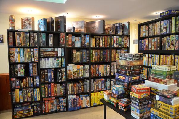 Über 1000 Spiele lassen sich im Würfel und Zucker spielen...