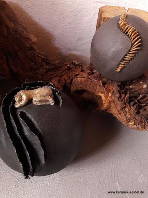 Kugel, Schichtkugel, Keramik Atelier Monika Seidel, Töpferei, Kurse
