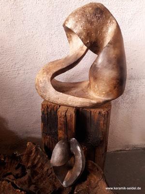 Möbius, Möbiusband, Endlosband, Keramik Atelier Monika Seidel, Töpfern, Töpferkurse, Kurse