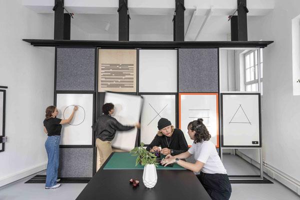 Aktiver dynamischer & kreativer Besprechungsraum