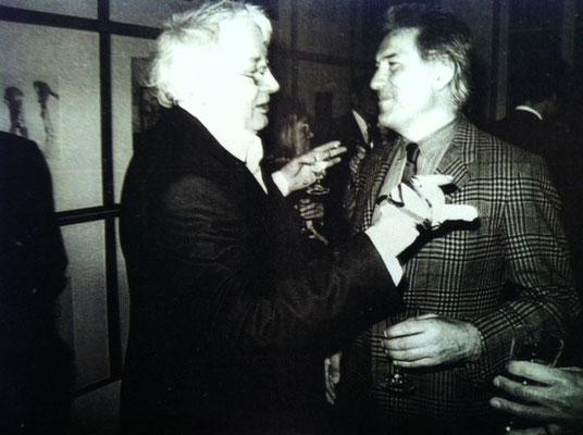 Horst Janssen und Pit Morell, Foto: Karlheinz Grünke