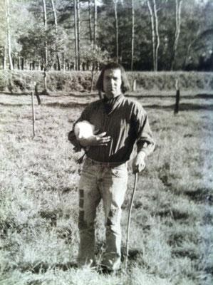 Selbstportrait Pit Morell mit Ente