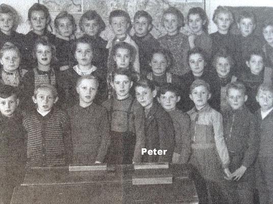 Pit Morell, 5. von rechts, erste Reihe. Anfang der 50er.