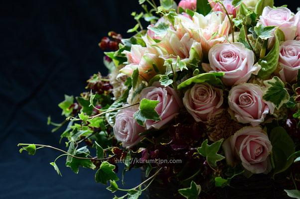 アレンジメント:結婚記念日のお祝いに。