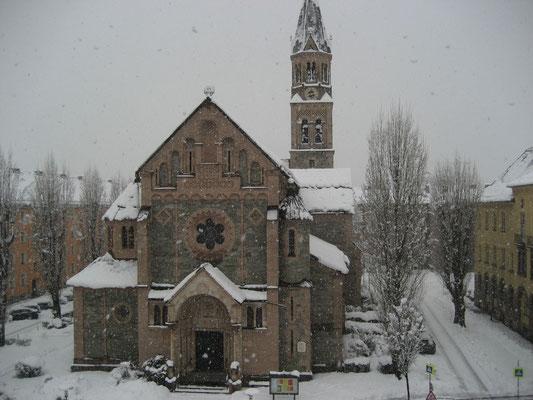 Bei Schneefall