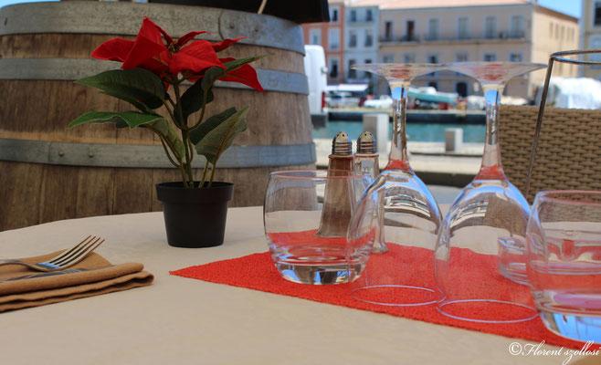 Terrasse restaurant Les Goélands à Sète