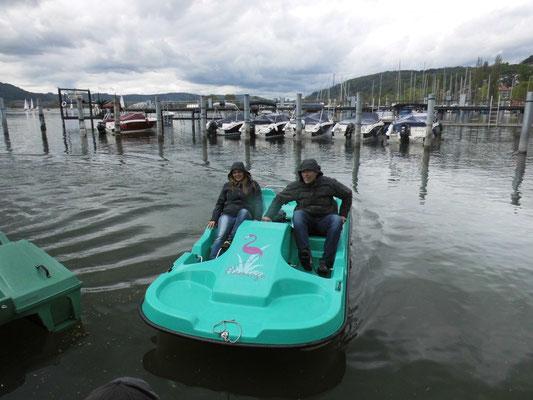 Bob Hessen 2 fuhr die Bestzeit... lag wohl an der Farbe des Bootes! ;)))
