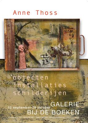 2018 Schattenwelten, Einzelausstellung in der Galerie bij de boeken Ulft, NL