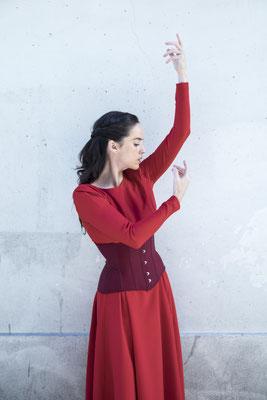 Danseuse : Gabriela Abaitua / Spectacle : Nuit Flamenco / Photographe : Jonathan Candotti